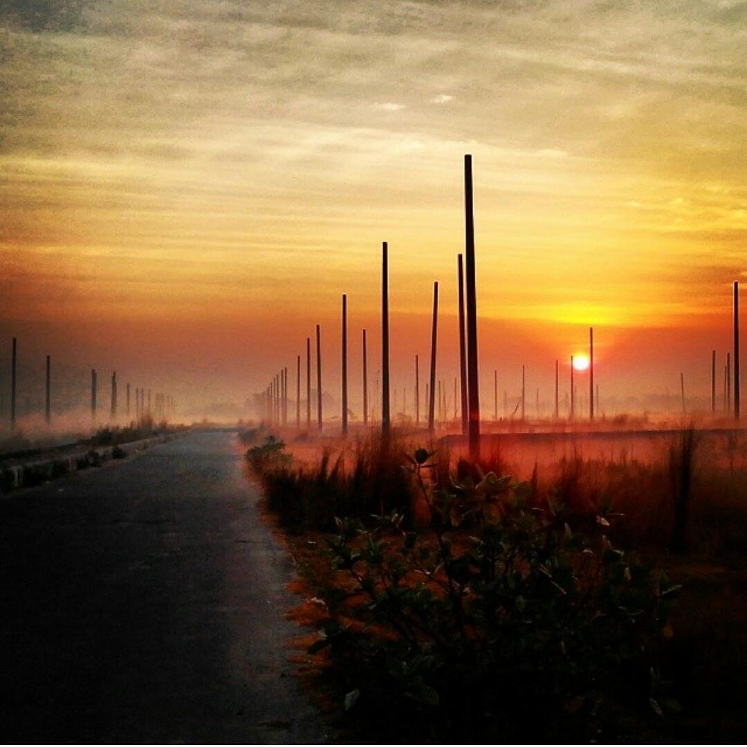 "Natural Bangladesh On Twitter: ""Sunrise In Uttara Sector"