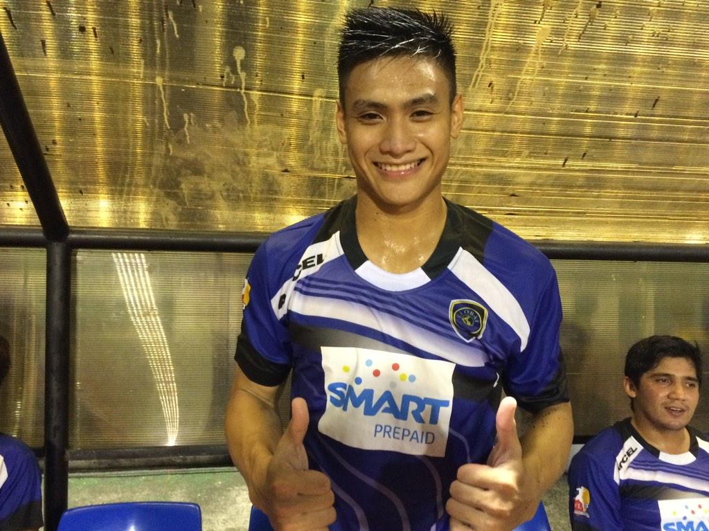 MOTM: #12 Amani Aguinaldo scoring the first goal of the match! #PDFCvGLOBAL http://t.co/9i53rQLWPI
