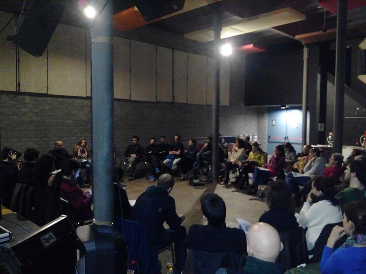 Presentación en Can Batlló, Barcelona, el 13-02-15