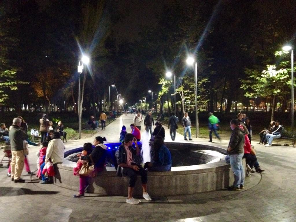 Investment in the quality of #PublicSpaces in the center of Mexico City energizes the whole city. #AlemedaPark #CDMX http://t.co/QAy0EJGMx3