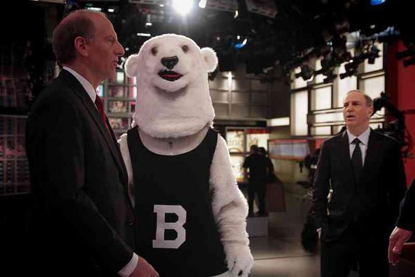 Bowdoin Bear consults with CFR president @RichardHaass regarding Mal crisis. http://pic.twitter.com/Wbdug5XX