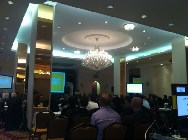 #eftanalytics a sneaky organiser's photo of what's going on at the smart travel analytics show :) http://pic.twitter.com/n2PK2NGh