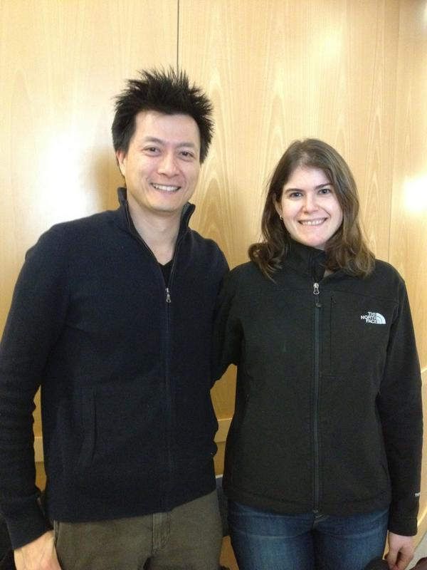 Live: @phdcomics with #iBio director Sarah Goodwin at #OAExplored event today on #openaccess http://pic.twitter.com/ooqcTNaZ