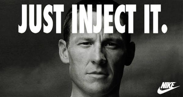RT @rocky_flowers: Después de sus declaraciones Lance Armstrong renueva su contrato con Nike. http://pic.twitter.com/vQC26gVm