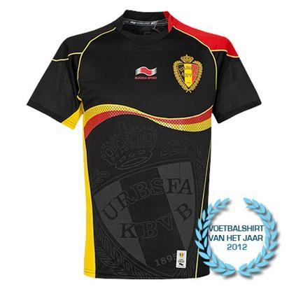 camiseta suplente de belgica