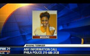 The World all mentioned the 5yr old as & she was found. Now do the same for a 14yr old Chelsea Ramsey-Jones #WestPhilly http://t.co/igJoKbOM