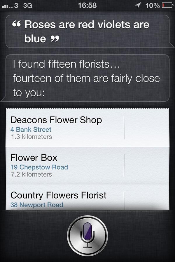 Oh Siri I love you ... #Siri #iPhones http://pic.twitter.com/HXRfNAKk
