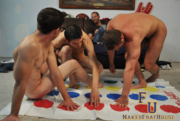 Naked man twister #14