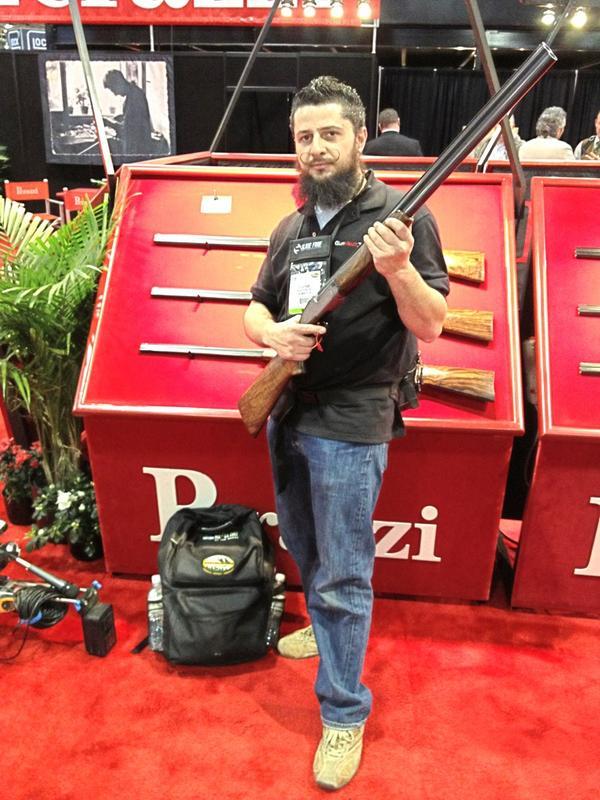 Feels good to hold an $80K #PerazziShotgun with #GunVaultTVpic.twitter.com/wVuqxYHG