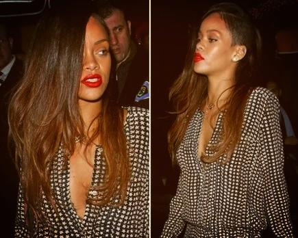 Another pic of Rihanna's new hair!! http://t.co/TaS81iu0