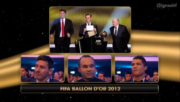 Messi wins Ballon d'Or 2012!-http://pbs.twimg.com/media/BAB0y1GCYAENmw8.jpg:large
