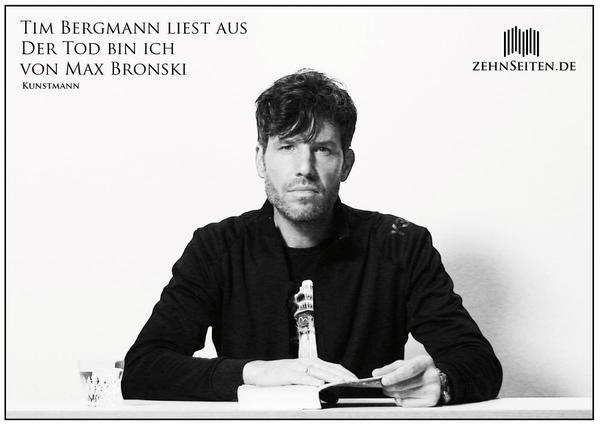 """Thumbnail for Max Bronski """"Der Tod bin ich"""" (Verlag Antje Kunstmann)"""