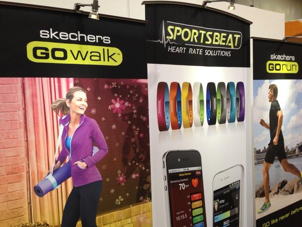 Everyone's getting into health tracking. Next: Sketchers. Shipping in June. $119 No name yet. http://pic.twitter.com/ei1JFhAU