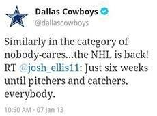 Hmm... Dallas Cowboys! http://pic.twitter.com/7heQbGZA