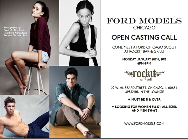 Ford Models Chicago >> Ford Model Chicago Open Call Seven Modified 2019 Ford