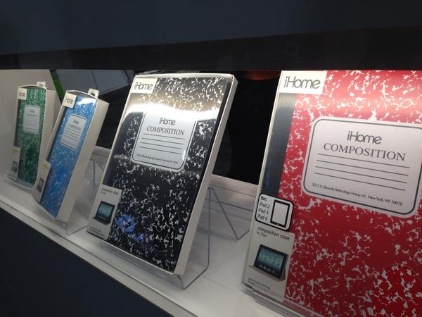 Cases literally go old school #ces http://pic.twitter.com/NJFpy5eR