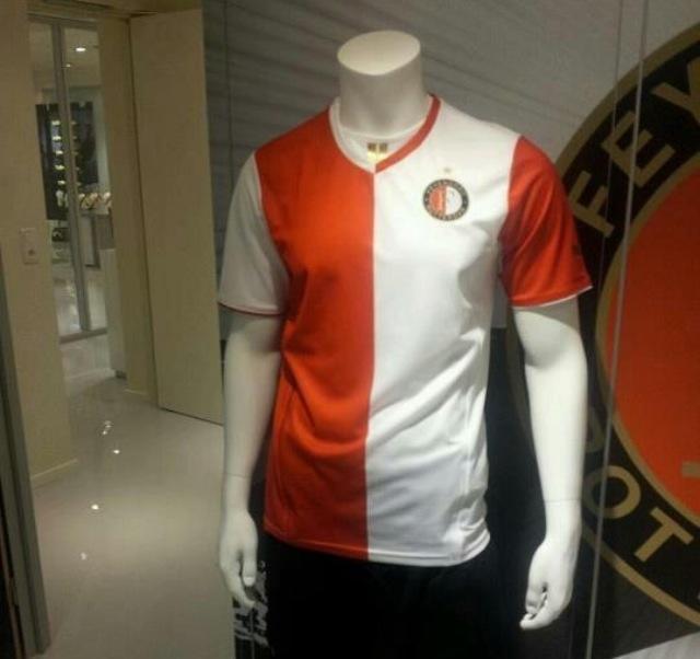 Feyenoord thuisshirt 2013/2014