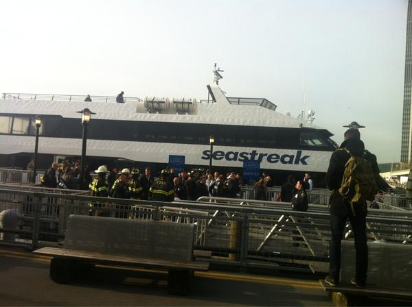 Commuter ferry accident injures at least a dozen people in