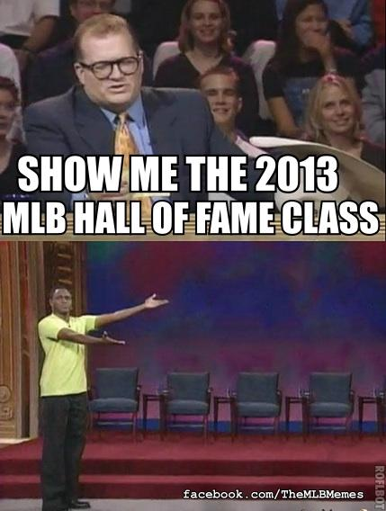 Hall of Fame results are in!!! #mlbmemes http://pic.twitter.com/d8D3LM2j