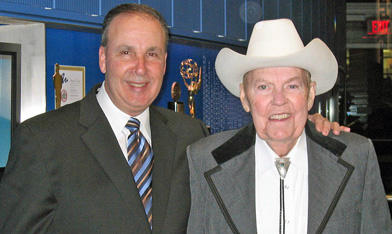 With Rex Trailer at the 2008 Silver/Gold Circle Awards.  At that moment, I was, oh, 5 or 6 years old.  #RIP #Boomtown http://pic.twitter.com/GjKXybDB