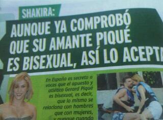 Shakira bisexual