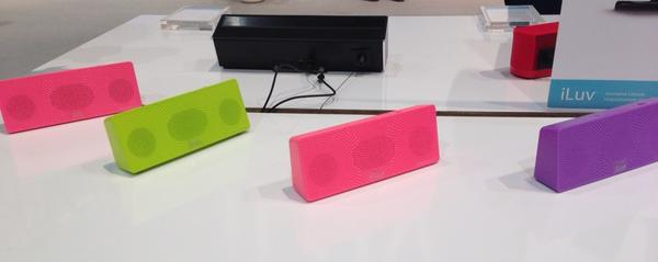 Check out the MobiTour Bluetooth speakers at @iluv_world #2013CES http://pic.twitter.com/P4KESAQZ