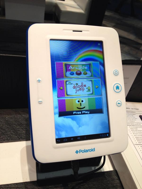Love the $149 @poloroid kids tablet. Lots of fun preloaded game apps and kids age browser. http://pic.twitter.com/674LYIf3