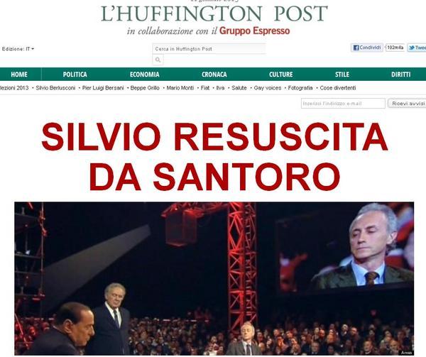 RT @Sberlusconi13: Se lo dicono loro che ha vinto un certo #Berlusconi a #serviziopubblico... http://pic.twitter.com/TJd6AwTE
