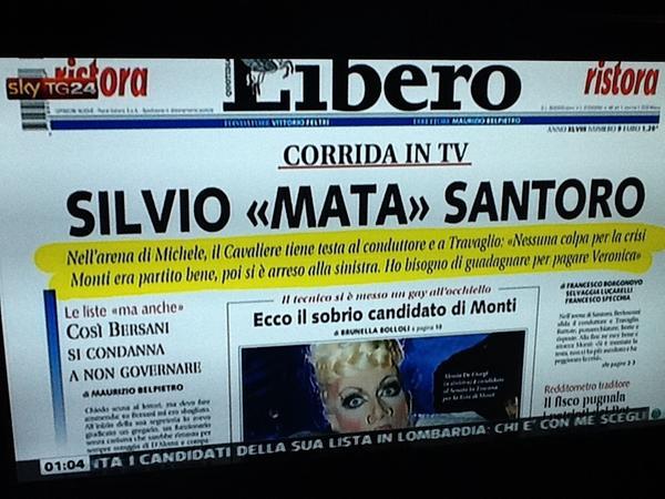 RT @nonleggerlo: #serviziopubblico via @SkyTG24 - @Libero_official di domani > http://pic.twitter.com/AtaPfPOr @Serv_Pubblico