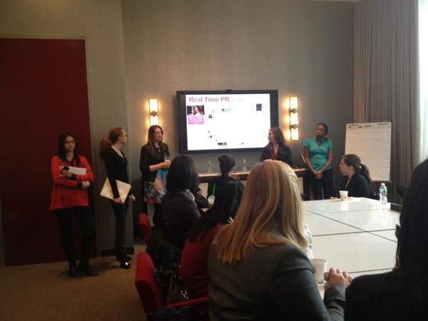 Visiting Marina Maher Communications @MMCtweets #NHNYC http://pic.twitter.com/nH0LLVif