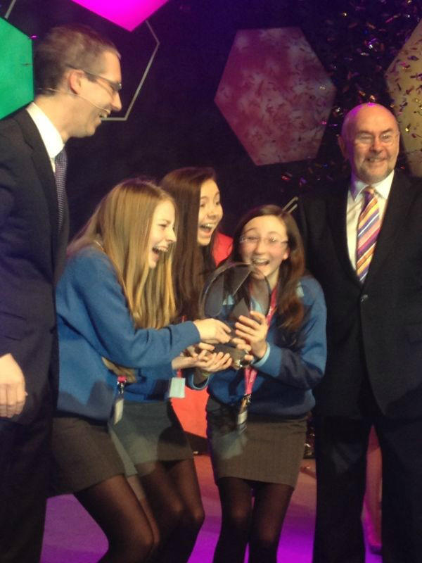 2013 BT Young Scientist winners