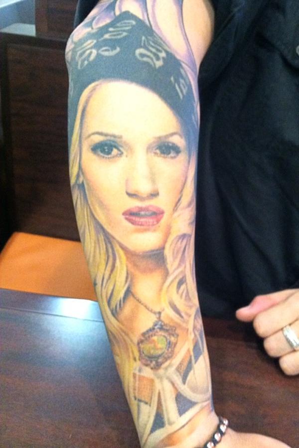 Regina robison on twitter ndink gwenstefani tattoo for Black anchor collective tattoo