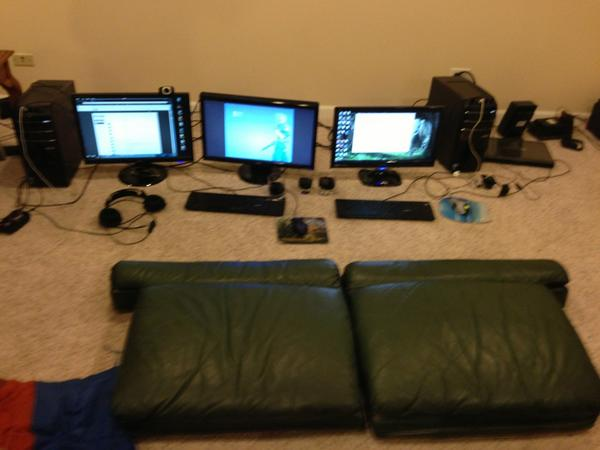Ninja On Twitter All Thats Left Of The Gaming Setup Nothing But