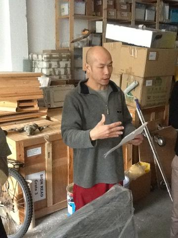 Leung Chi Wo talking about his plans for upcoming show @ISCP_NYC #fotanian http://pic.twitter.com/0Cj2ItQ7