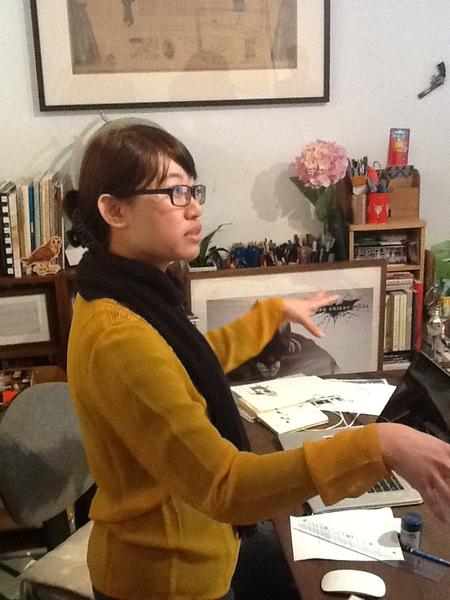 Ho Sing Tung studio visit #fotanian; she'll be making a tour #incidentsoftravel #moderations @SpringHK http://pic.twitter.com/BUPDxi8K