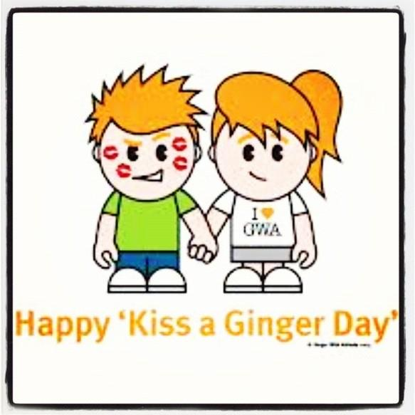 Kiss A Ginger Day | www.pixshark.com - Images Galleries ...