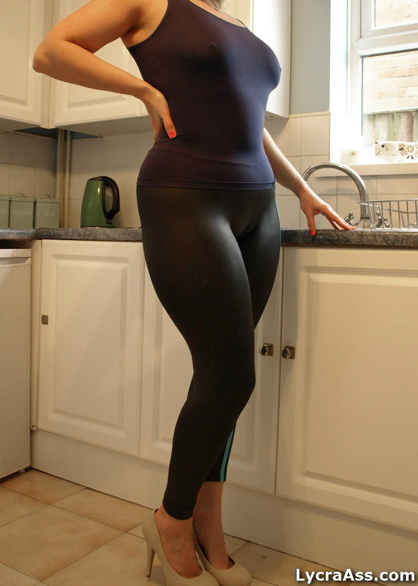 from Joel big milf spandex booty