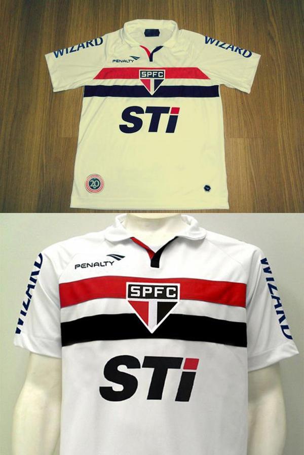 Camisa Do Spfc Rbk Oficial 2006 A Primeira C  5 Estrela - R  40 854ffb5024410