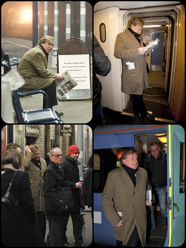 وزير المواصلات البريطاني يختار القطار للذهاب للعمل في السادسة صباحاً بعد أن واجه احتجاجاً بسبب استخدامه سيارة بسائق!! http://t.co/rMaWvRwY
