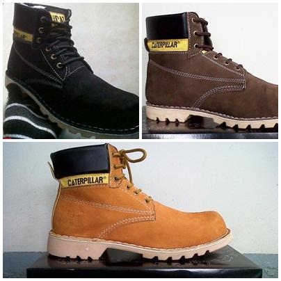 Sepatu Caterpillar Hitam A9beac2c