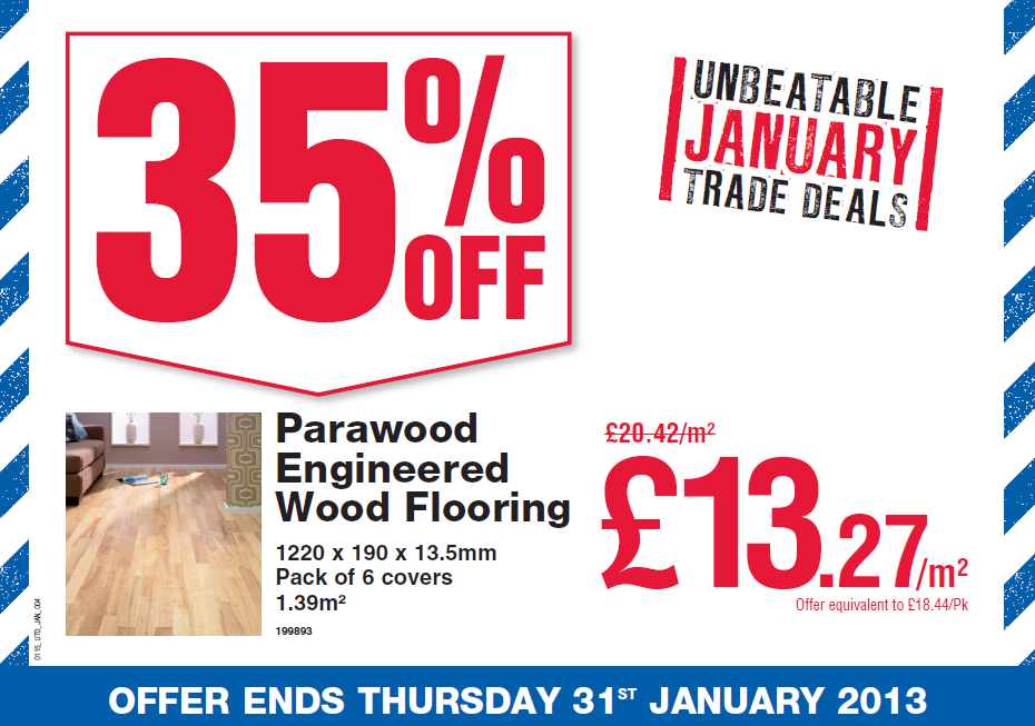 Wickes On Twitter Unbeatable Trade Deals Our Parawood Engineered