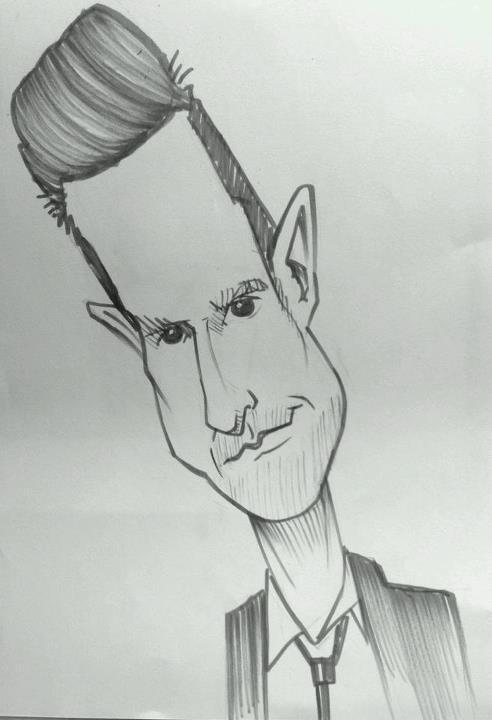 Wil Anderson by Daniel Heyman