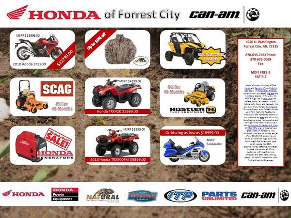 Honda Forrest City Followed