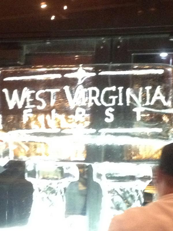 West Virginia First @ertwv inauguration !!! http://pic.twitter.com/pZaClNLC
