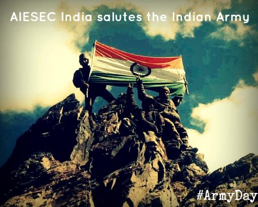 Indian Army Soldier Saluting Wallpaper