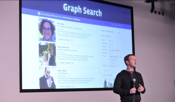 Ask: Who are my friends in San Francisco, and get the answer quickly with Graph Search. Image attached. #Facebook http://pic.twitter.com/wRbNmvos