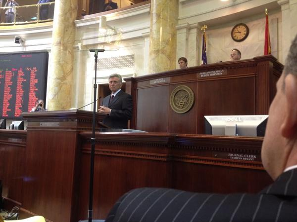 Thumbnail for Arkansas General Assembly Day 2