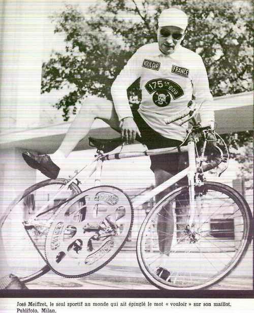 Ostre koło - rower z wielką tarczą :)