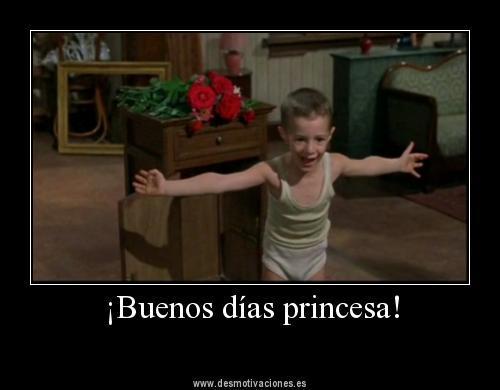 Retweets 767 Favorites 195Buenos Dias Princesa Frases