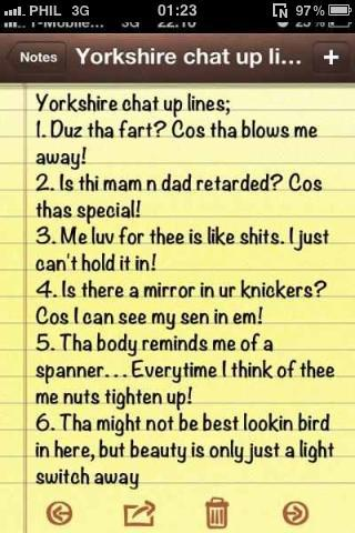 swx chat up lines